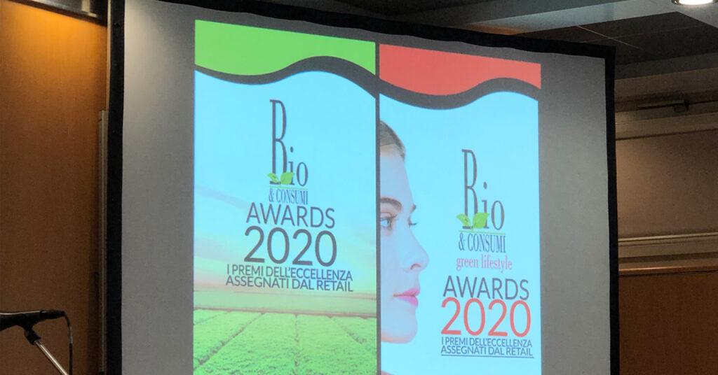 La premiazione dei Bio Awards 2020